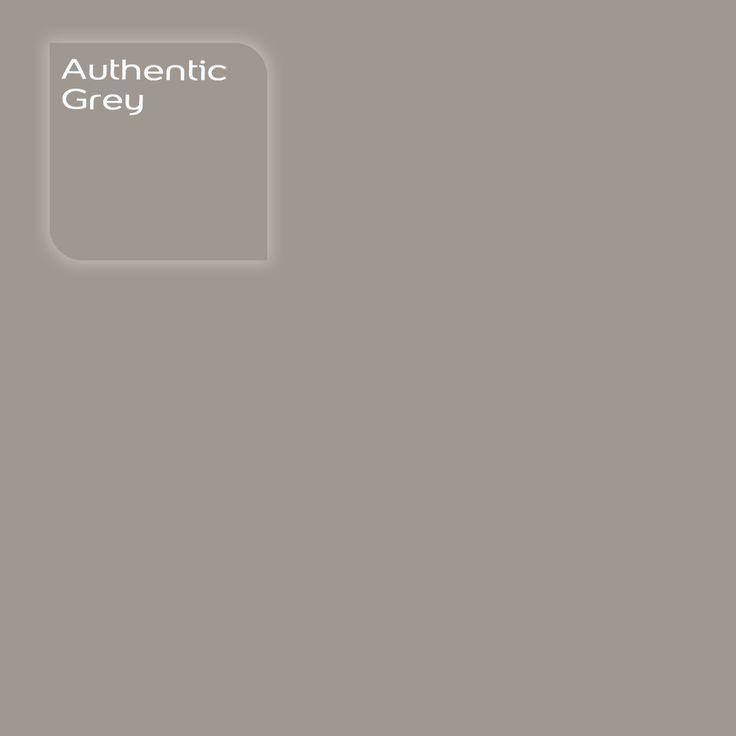 Flexa Creations kleur: Authentic Grey. Klik op de foto om een Flexa Kleurstaal in deze kleur te bestellen. Vooraf de kleur op de muur in je kamer zien geeft vertrouwen.