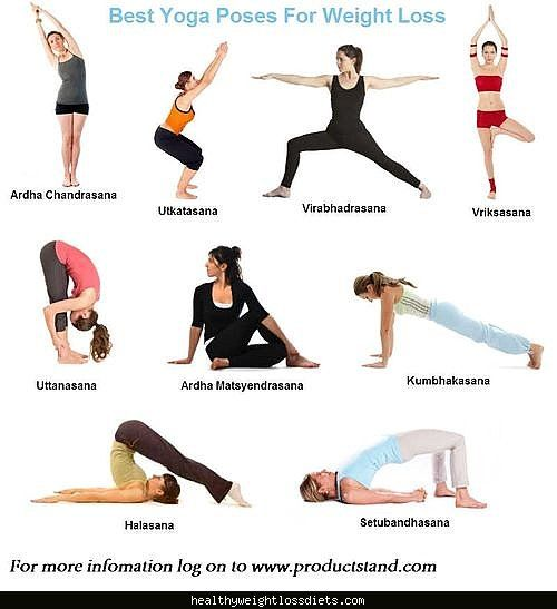 cool Weight loss yoga Pics