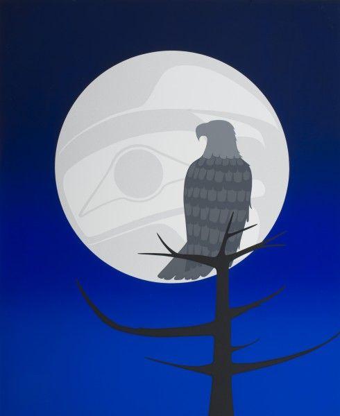 Eagle's Moon by NA Artist - Roy Henry Vickers (Tsimshian, Haida and Heiltsuk)