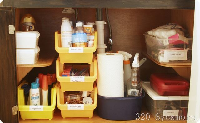 55 Best Images About Under The Sink Organizing On