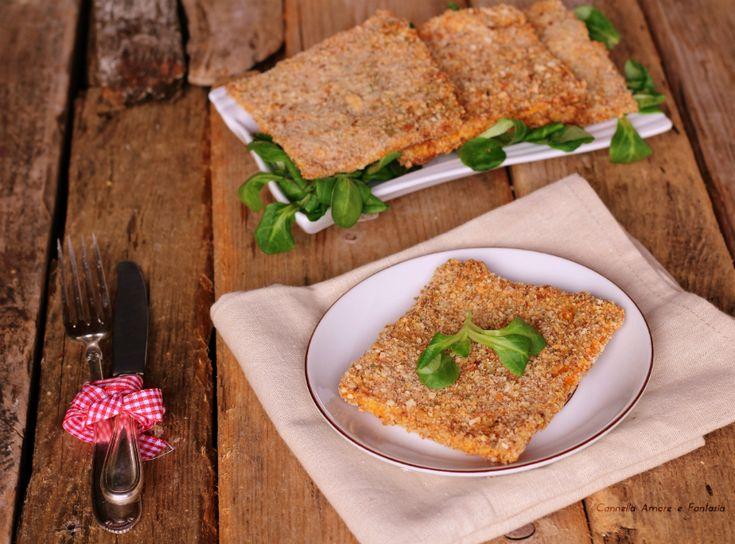 Le Cotolette di zucca al forno sono una ricetta vegetariana golosa ma leggera che piace tanto anche ai bambini, ricca di vitamine vi conquisterà!