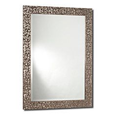 Princess, Sterling Silver Mirror - 31 Inch x 43 Inch