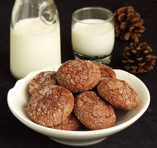 Chewy Chocolate Almond Cookies