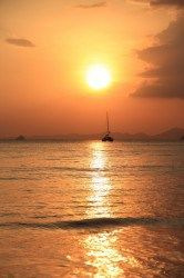 Krabi, Thailand- a perfect sunset