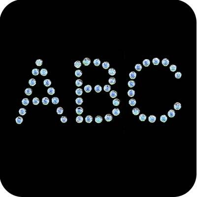 13 best Iron on Letters and Number Patches images on Pinterest ...