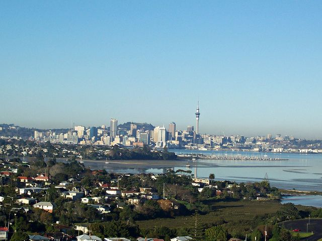 #futurehome Auckland, as seen from the North Shore suburb of Takapuna.