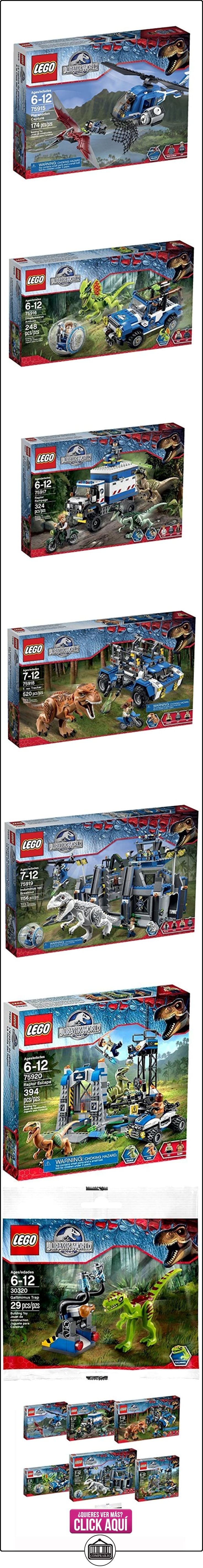 LEGO Jurassic World Entire Theme of 6 Building Sets + 1 Polybag by LEGO  ✿ Lego - el surtido más amplio ✿ ▬► Ver oferta: https://comprar.io/goto/B0121T3EB4