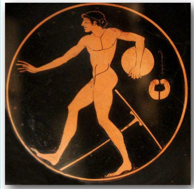 Ancient Greek pottery decoration. | Hans Ollermann
