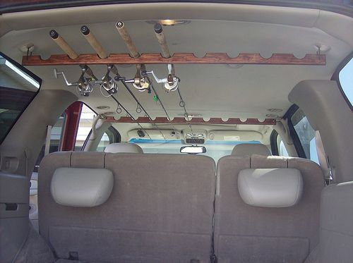 roof rod holders | fishing rod holders for boats , fishing pole minecraft wiki , fishing ...