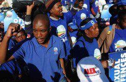 Strong words from Maimane: Zuma's a tsotsi, must voetsek  Democratic Alliance leader Mmusi Maimane.