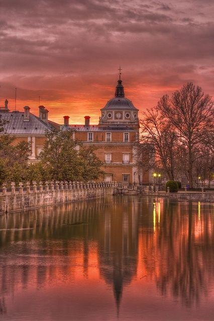 Palacio Real de Aranjuez (Madrid), España