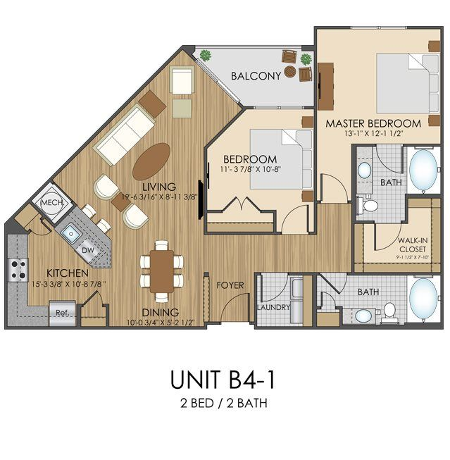 Hidden Creek Apartments In Gaithersburg Md Floor Plans Modern House Plans Small House Plans