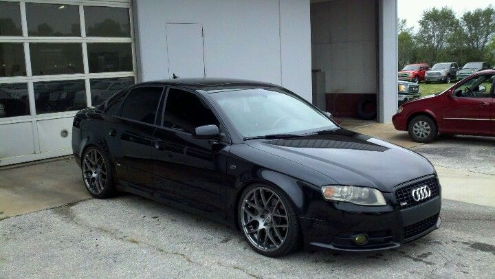 Wifey's 08 Audi A4 quattro S-line Titanium.  Stage 1 2.0T, ST coilovers, 19x8.5 VMR V710