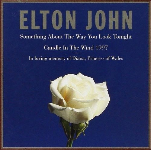 """Elton John rewrote his 1973 single """"Candle in the Wind"""" in tribute to his friend Princess Diana. The rewritten version went on to become the second best-selling single of all time. 