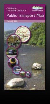 Cumbria County Council Public Transport Map