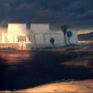 """Nathan Fowkes """"The Prince of Egypt"""" production art"""