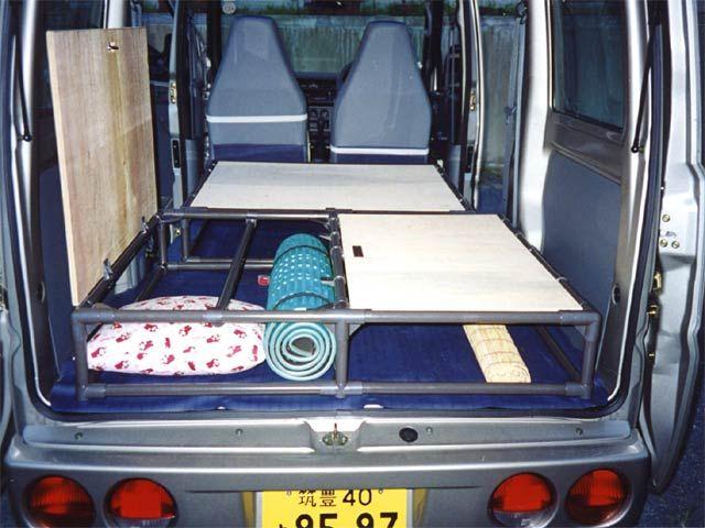 キャンピングカーベッド イレクター アウトドア 折り畳みテーブル
