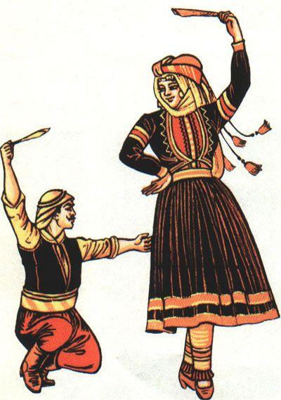 Syrian folk dance. YES