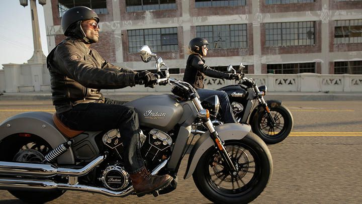 An efficient and reliable 69 cubic inch V-twin – for impressive power on demand.
