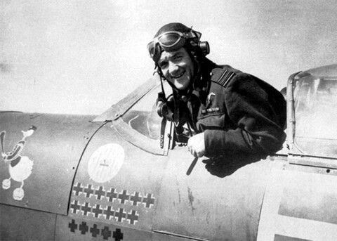 Jan Zumbach, 303 Polish Sqn.RAF