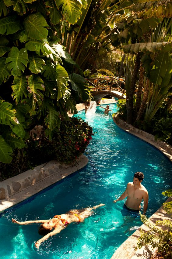 Lazy River Swimming Pool Designs the elaborate pool system uses 500000 gallons of water and includes two backyard water parkslazy river 16 Piscinas Em Que Voc Adoraria Ficar De Molho Por Horas E Horas Lazy River Poolbackyard