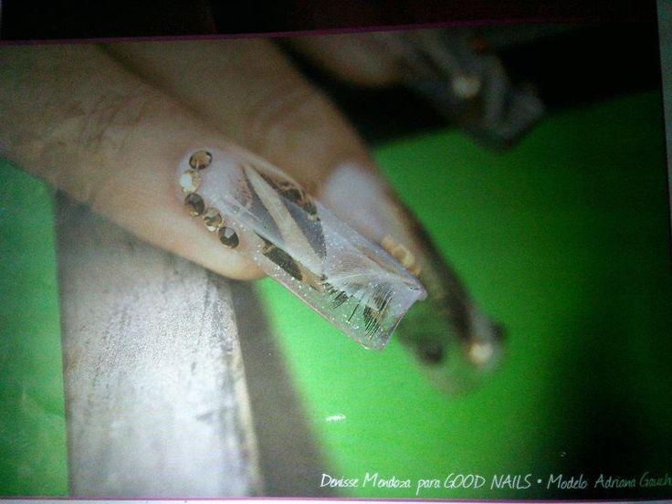 Mejores 194 imágenes de Uñas acrílicas en Pinterest | Arte de uñas ...