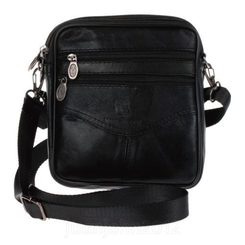 free shipping+++Genuine Leather Mens Womens Waist Shoulder Pack Fanny Casual Bag 60