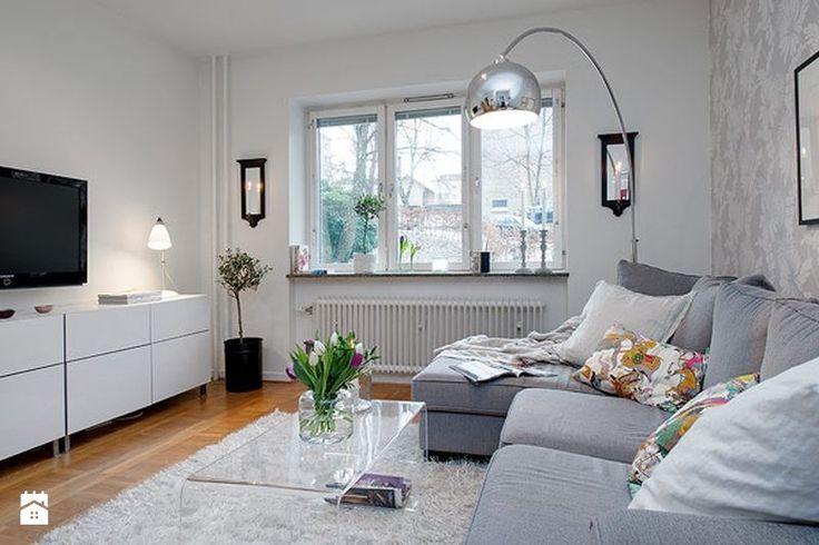 Przytulne mieszkanie w stylu skandynawskim - Salon - Styl Skandynawski - Le Pukka concept store