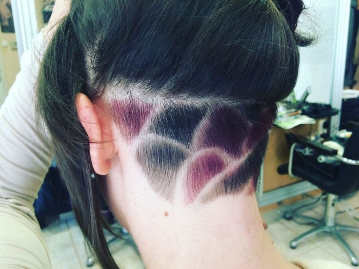 Haj hair lila fekete