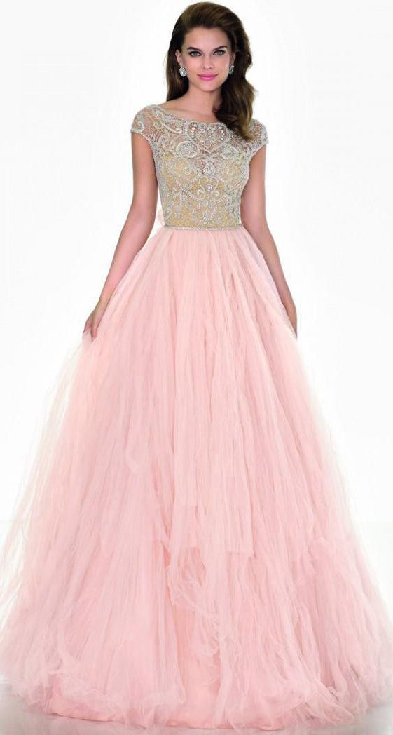 evening gown with sleeves $132.89-Eelgant Beaded Tulle Prom Dress/Evening Dress with Sleeves. http://www.ucenterdress.com/a-line-cap-sleeve-scoop-neck-beaded-tulle-prom-dress-pMK_303610.html. Shop for affordable evening gowns, prom dresses, white dresses, party dresses for women, little black dresses, long dresses, casual dresses, designer dresses, occasion dresses, formal gowns, cocktail dresses . We have great 2016 Evening Gowns on sale now. #evening #gowns
