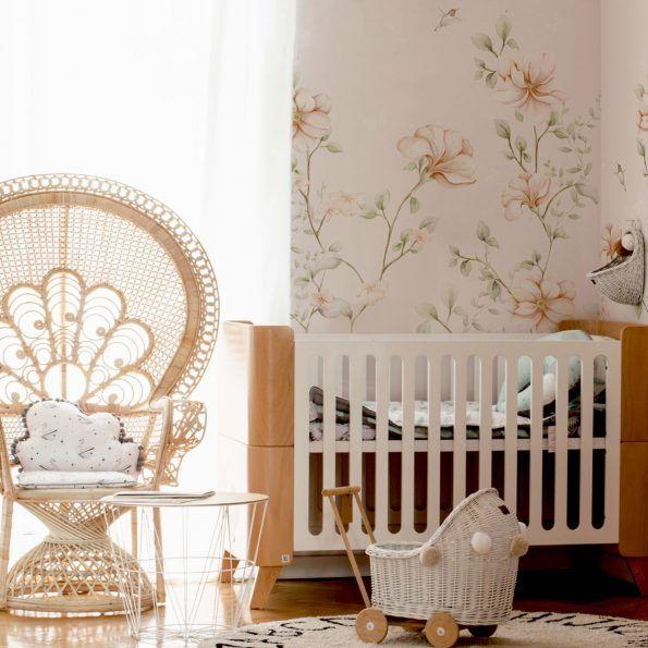 Tapeta Rajski Ogrod Wallpaper Girl S Room Wonderful Flowers
