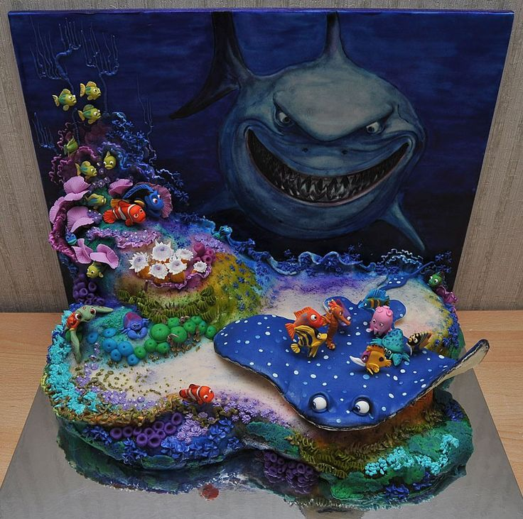 Nemo Cake: 165 Best Images About Finding Nemo Cakes On Pinterest