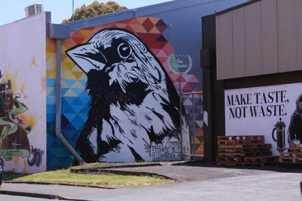 #streetart Grey Lynn, Auckland, New Zealand - December 2015