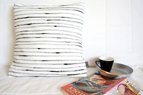 pillow case Stripes