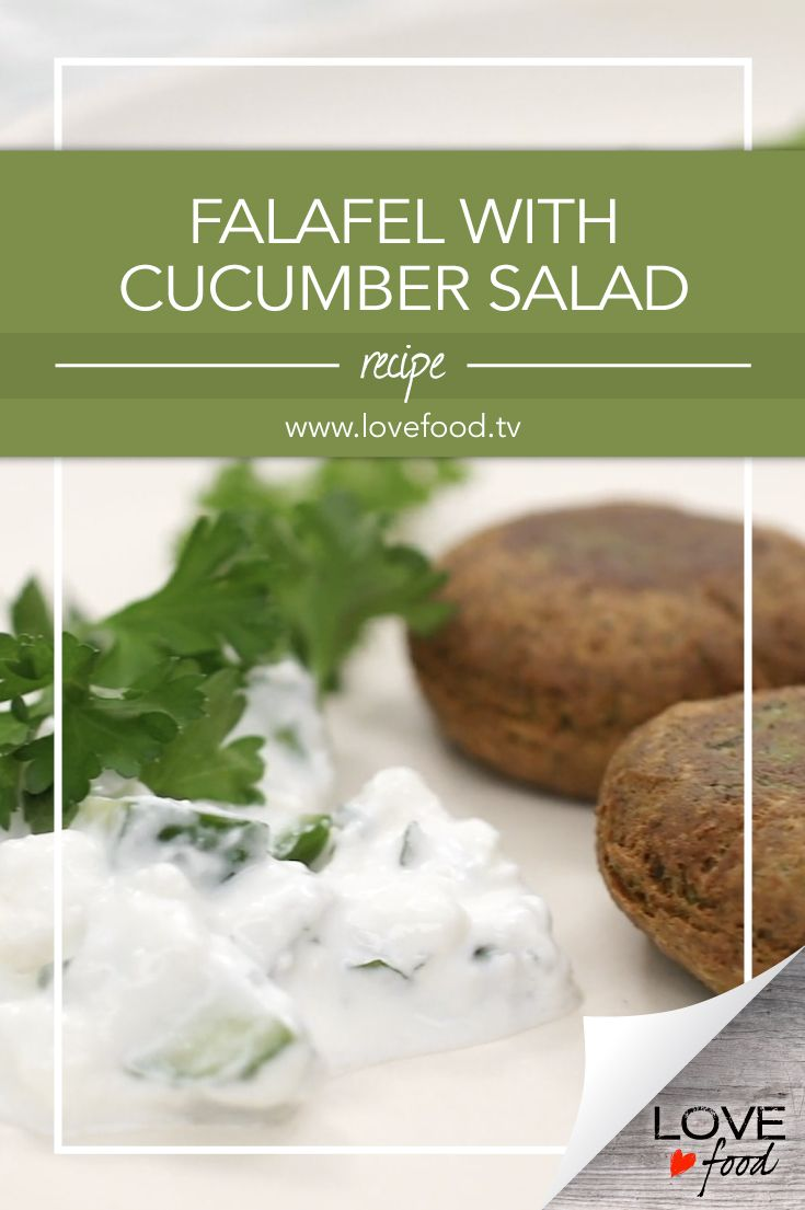 Falafel with Cucumber Salad