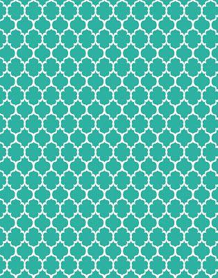 polka dot  free printable coral and teal | Freebie digi Patterns backgrounds: polka dots, moroccan, quatrefoil ...