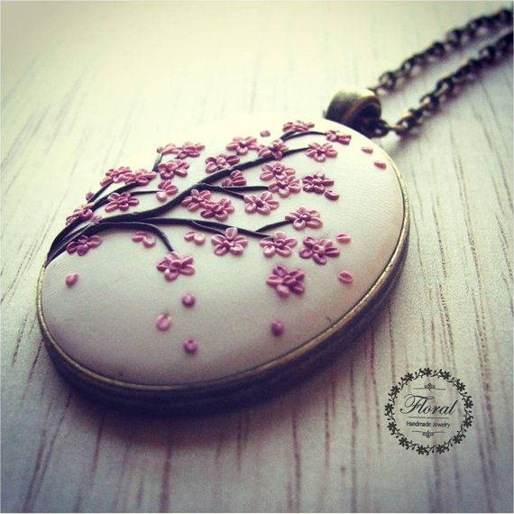 Hey, I found this really awesome Etsy listing at https://www.etsy.com/ru/listing/225309336/cherry-blossom-necklace-bridesmaid