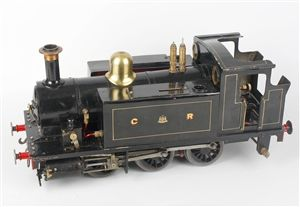 "A 3.5"" gauge live steam model railway 0-6-0 'Rob Roy' tank locomotive"