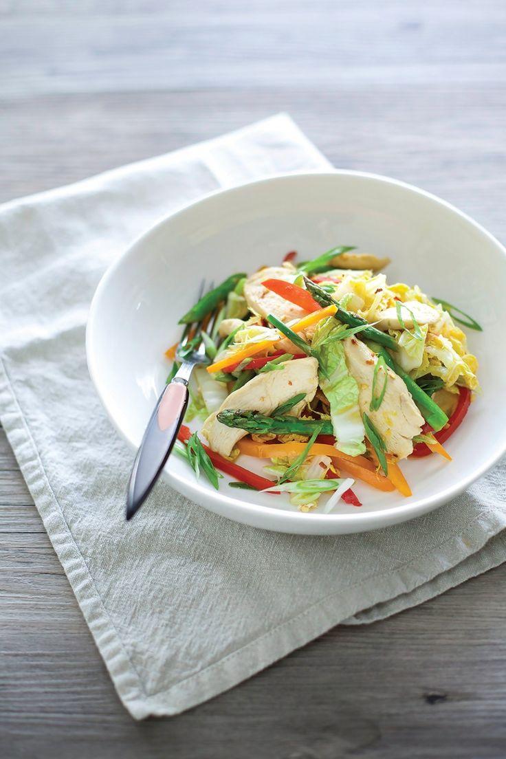 Lemon Chicken & Asparagus Stir-Fry ‹ Hello Healthy