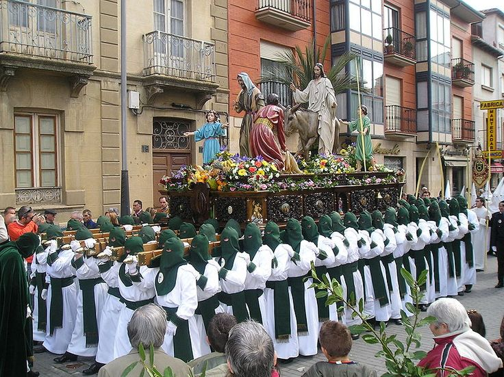 Palm Sunday procession in Astorga (Spain)