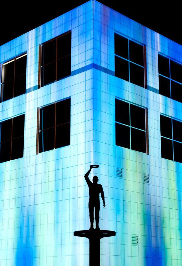 Enlighten Festival - National Science and Technology Centre #enlighten #lights #glow #festival #neon #art #canberra #australia