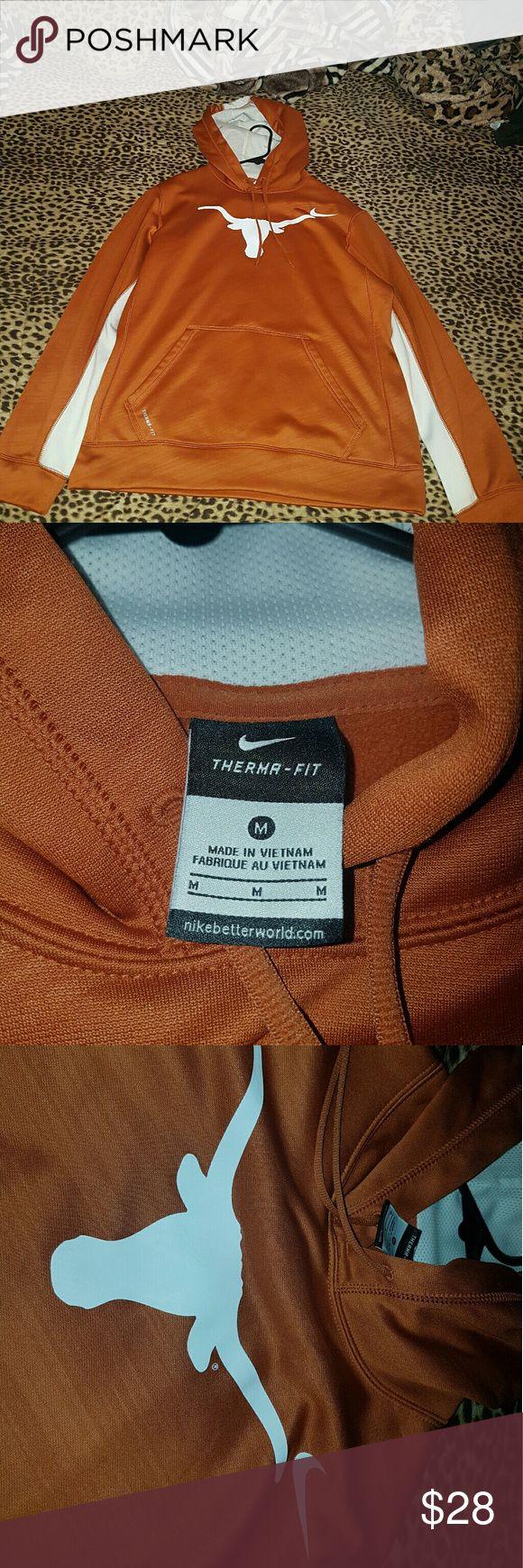Nike Texas long horns hoodie Slightly used Nike Texas long horns hoodie. For men size medium. Nike Sweaters