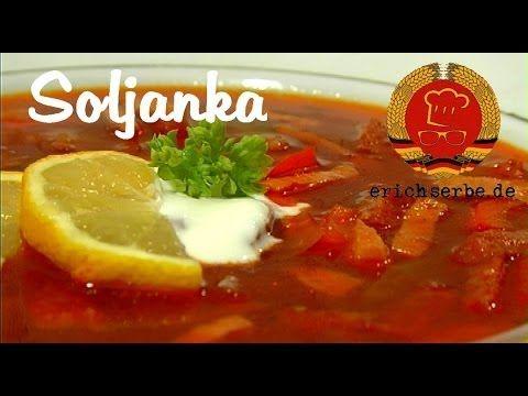 Ukrainische Soljanka (von: erichserbe.de) - Essen in der DDR: Rezepte für ostdeutsche Gerichte - Erichs kulinarisches Erbe