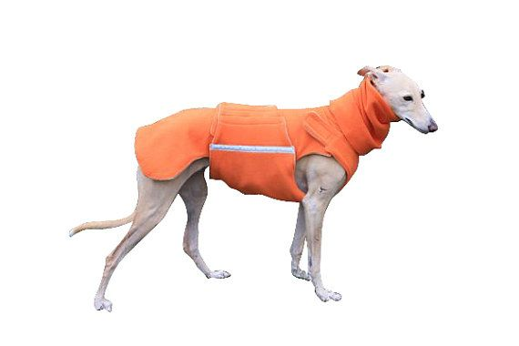 Fleece Dog Coat with underbelly protection  by PepperPetWear