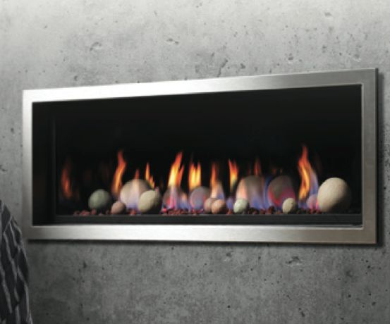 ZRB46 with 'cannonball' media kit | Kingsman Fireplaces ...