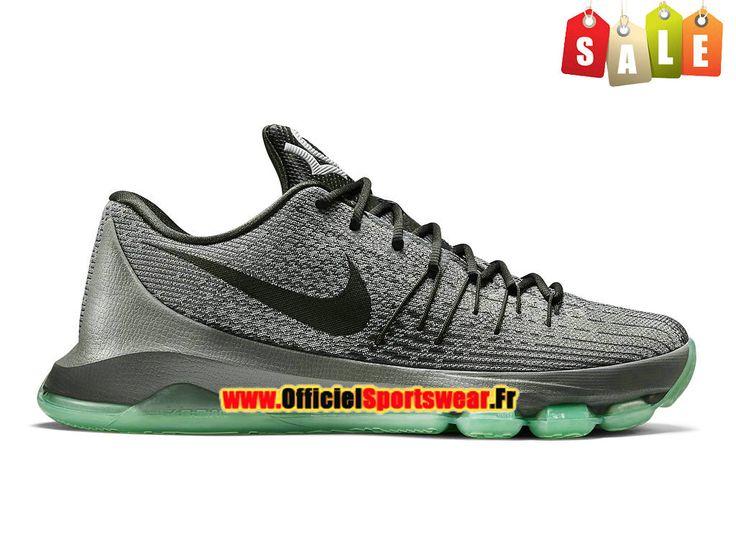Nike KD 8/VIII Chaussure de Nike Basket-ball Pas Cher Pour Homme Gris