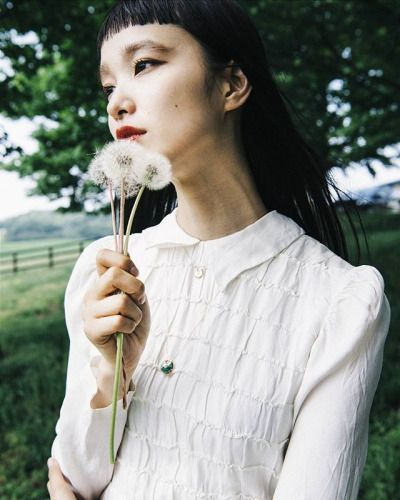 Yuka Mannami for Amulette de Cartier