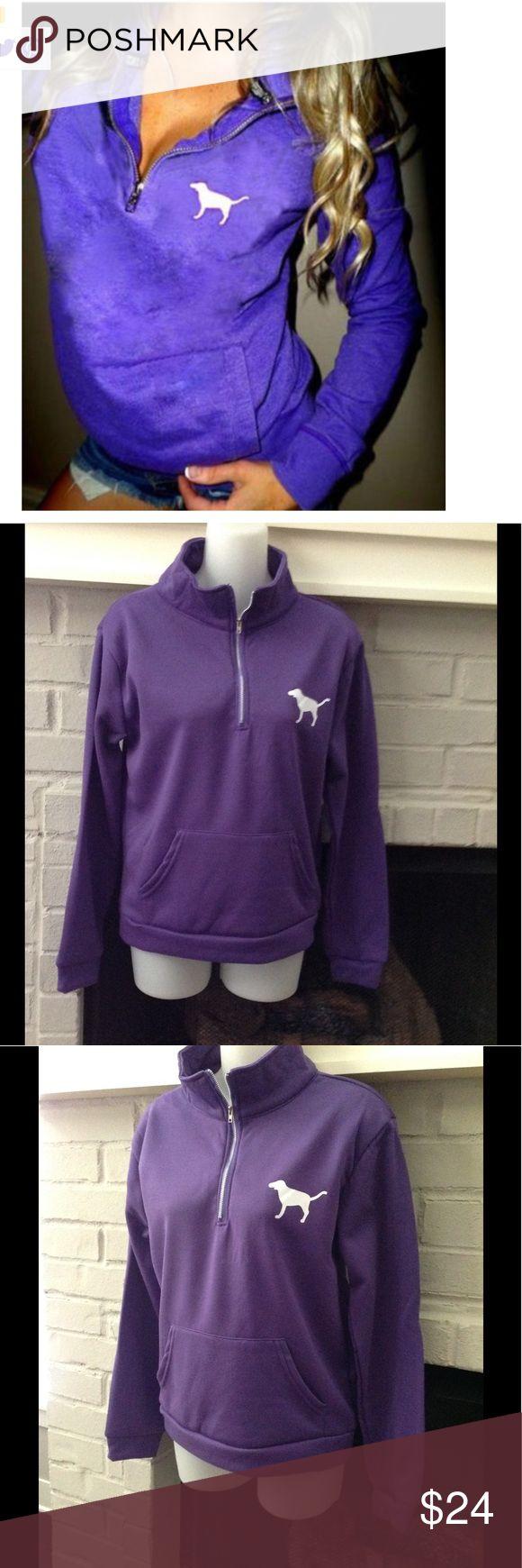 Women's top Purple hoodie. Great to throw on to walk your dog 🐶 Tops Sweatshirts & Hoodies
