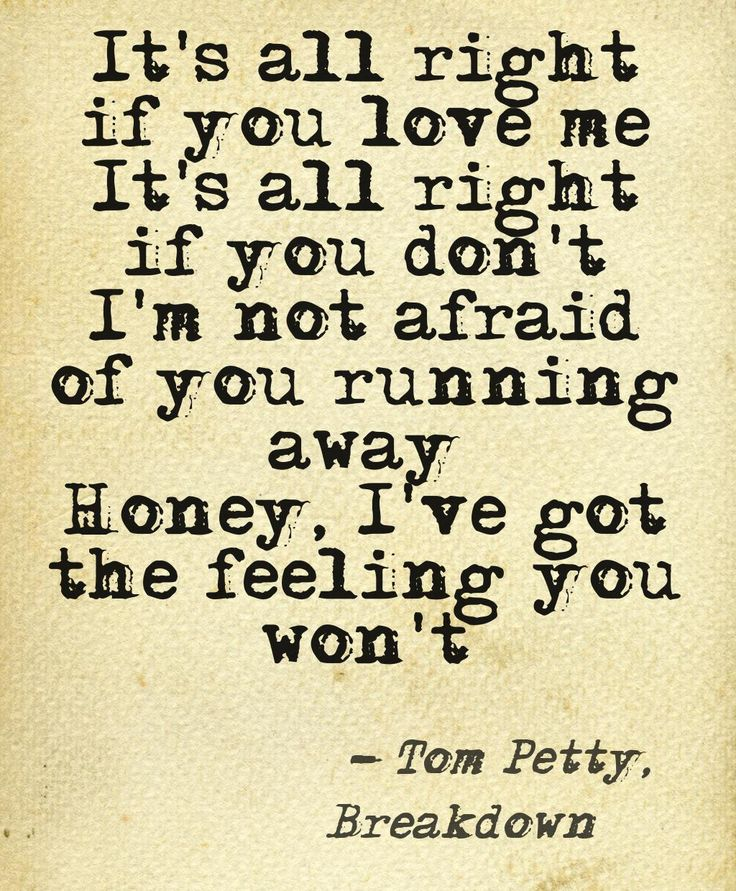 Breakdown. Tom Petty & the Heartbreakers.  Instant Love.