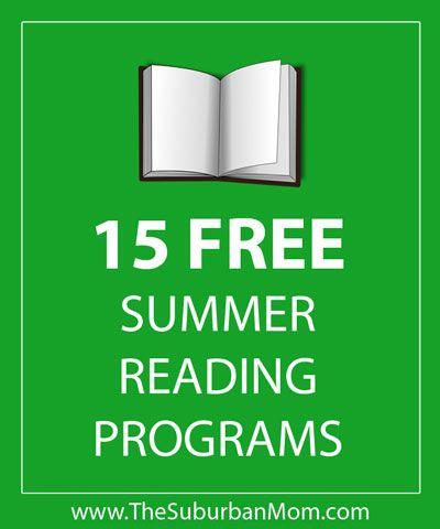 15 free summer reading programs
